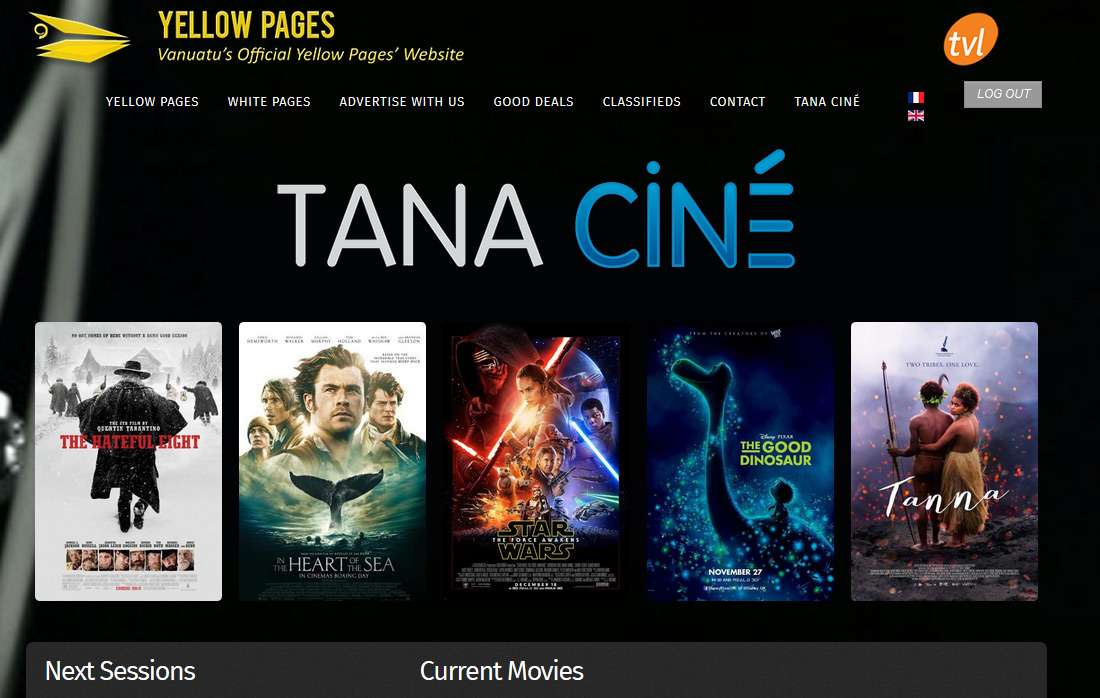 Tana Ciné on Yellow Pages