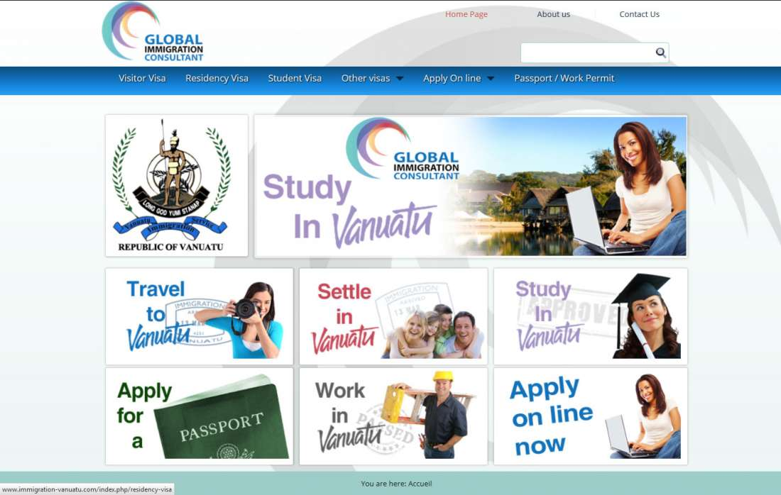 Global Immigration Consultant Vanuatu