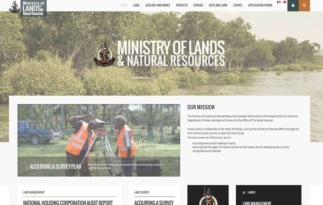 Ministry of Lands and Natural Resources of Vanuatu